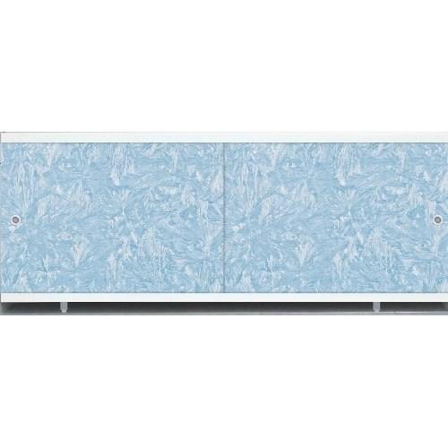 Лицевой экран под ванну Метакам Кварт (голубой иней) 148 см