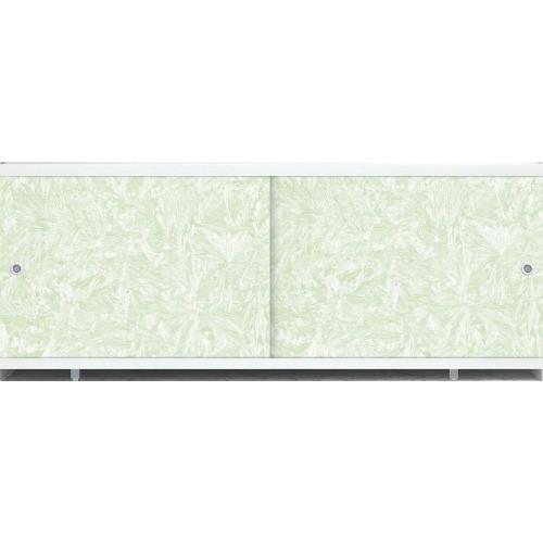 Лицевой экран под ванну Метакам Кварт (зеленый иней) 168 см