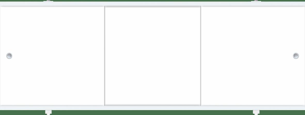Лицевой экран под ванну Метакам Премиум А (белый) 148 см