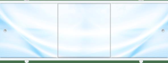 Лицевой экран под ванну Метакам Премиум А (голубой) 148 см