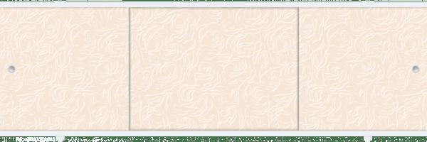 Лицевой экран под ванну Метакам Премиум А (кремовый) 148 см
