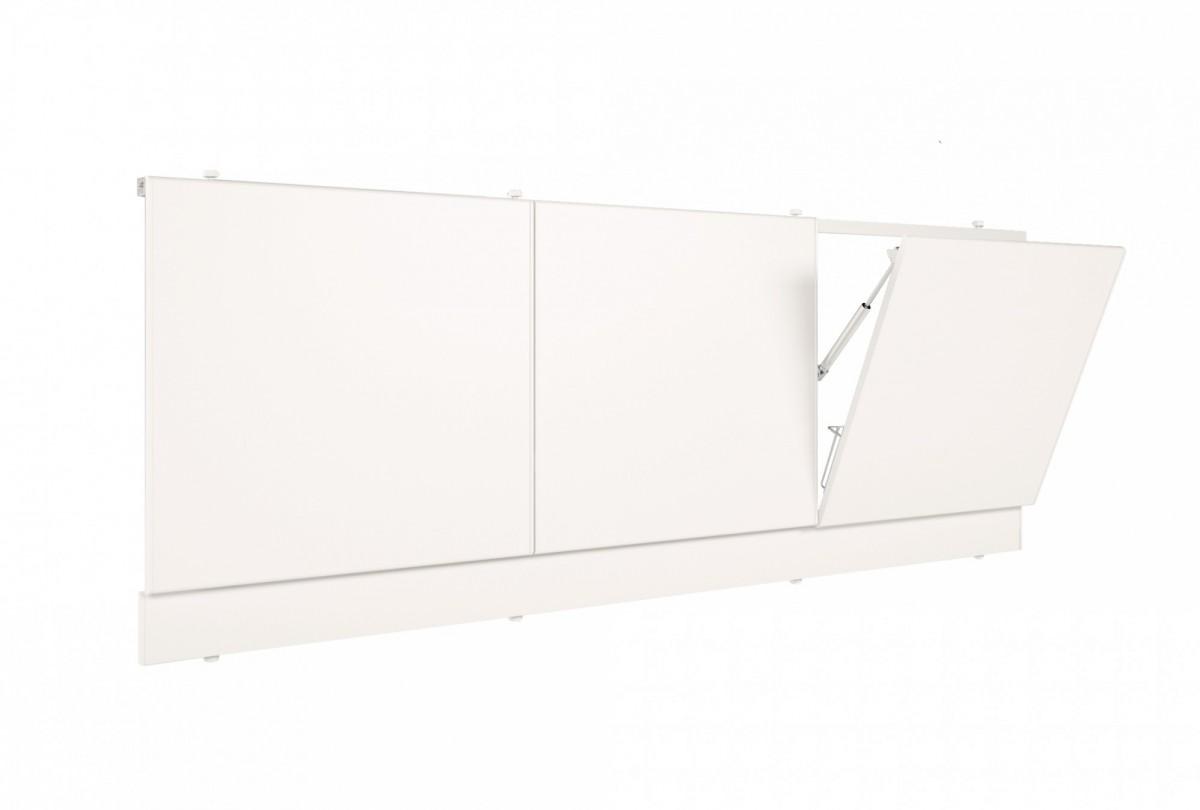 Лицевой экран под ванну с откидными дверцами Метакам 149 см