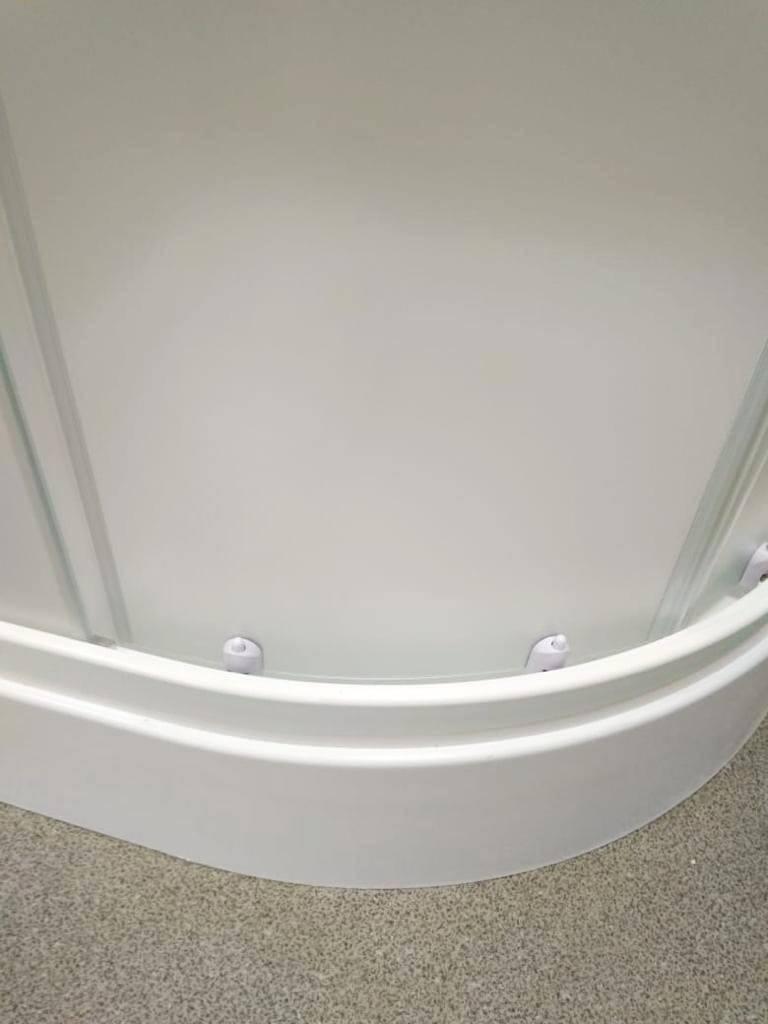 Стеклянный душевой уголок Метакам Classic (матовое стекло) 90x90x175